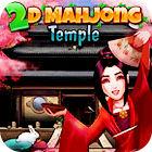 2D Mahjong Temple juego