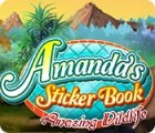 Amanda's Sticker Book: Amazing Wildlife juego