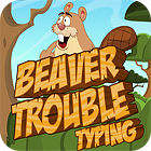 Beaver Trouble Typing juego
