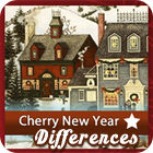 Cherry New Year 5 Differences juego