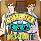 Defenders of Law: The Rosendale File juego