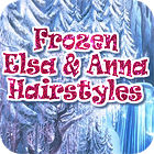 Frozen. Elsa and Anna Hairstyles juego