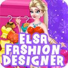 Elsa Fashion Designer juego