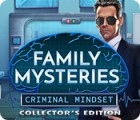 Family Mysteries: Criminal Mindset Collector's Edition juego