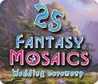 Fantasy Mosaics 25: Wedding Ceremony juego