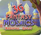 Fantasy Mosaics 36: Medieval Quest juego