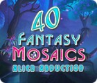 Fantasy Mosaics 40: Alien Abduction juego