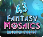 Fantasy Mosaics 43: Haunted Forest juego