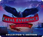 Fatal Evidence: Art of Murder Collector's Edition juego