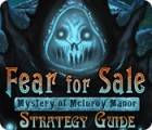 Fear For Sale: Mystery of McInroy Manor Strategy Guide juego