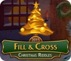 Fill And Cross Christmas Riddles juego