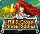 Fill and Cross Pirate Riddles juego