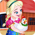 Frozen. Anna Poultry Care juego