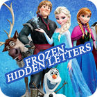 Frozen. Hidden Letters juego