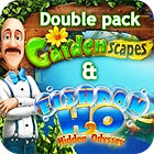 Gardenscapes & Fishdom H20 Double Pack juego