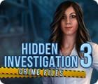 Hidden Investigation 3: Crime Files juego