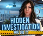 Hidden Investigation: Who Did It? juego