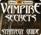 Hidden Mysteries: Vampire Secrets Strategy Guide juego