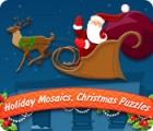 Holiday Mosaics Christmas Puzzles juego