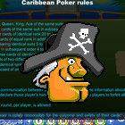Island Caribbean Poker juego