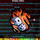 Japanese Craps juego