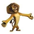 Madagascar 3 Juego de Colorear juego