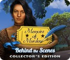 Memoirs of Murder: Behind the Scenes Collector's Edition juego