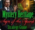 Mystery Heritage: Sign of the Spirit Strategy Guide juego