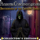 Paranormal Crime Investigations: Brotherhood of the Crescent Snake Collector's Edition juego