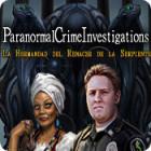 Paranormal Crime Investigations: La Hermandad del Renacer de la Serpiente juego