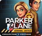 Parker & Lane Criminal Justice Collector's Edition juego