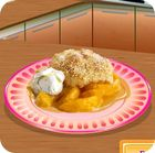 Sara's Cooking Class: Peach Cobbler juego