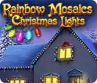 Rainbow Mosaics: Christmas Lights juego