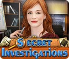 Secret Investigations juego