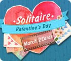 Solitaire Match 2 Cards Valentine's Day juego