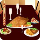 Thanksgiving Dinner Dress Up and Decor juego