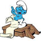 The Smurfs Brainy's Bad Day juego