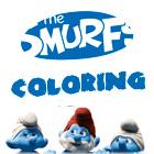 Los personajes de Los Pitufos de colorear juego