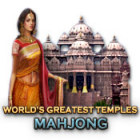 World's Greatest Temples Mahjong juego