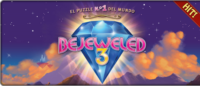 juego exclusivo Bejeweled 3