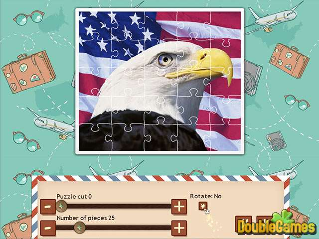 Free Download 1001 Jigsaw World Tour American Puzzle Screenshot 1