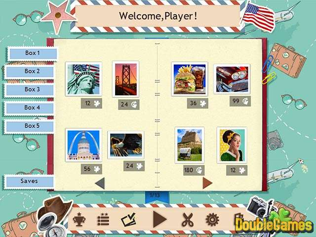 Free Download 1001 Jigsaw World Tour American Puzzle Screenshot 2
