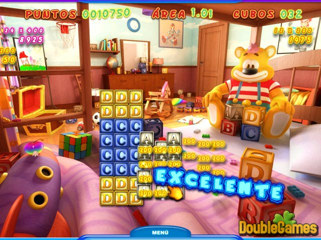 Free Download ABC Cubes: Teddy's Playground Screenshot 1