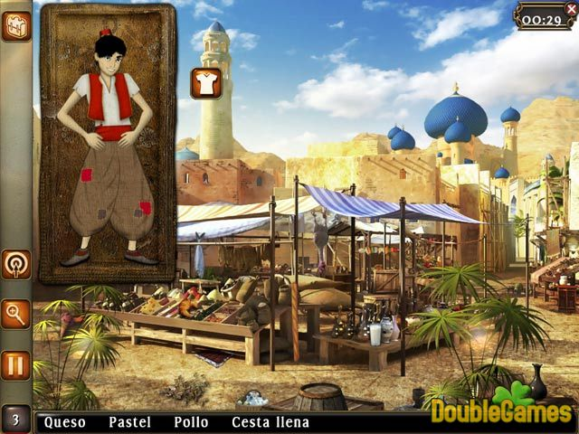 Free Download Aladin and the Wonderful Lamp: The 1001 Nights Screenshot 1