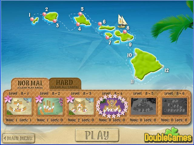 Free Download Aloha Solitaire Screenshot 2