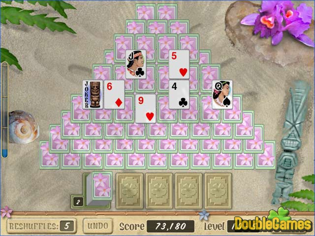 Free Download Aloha Solitaire Screenshot 3