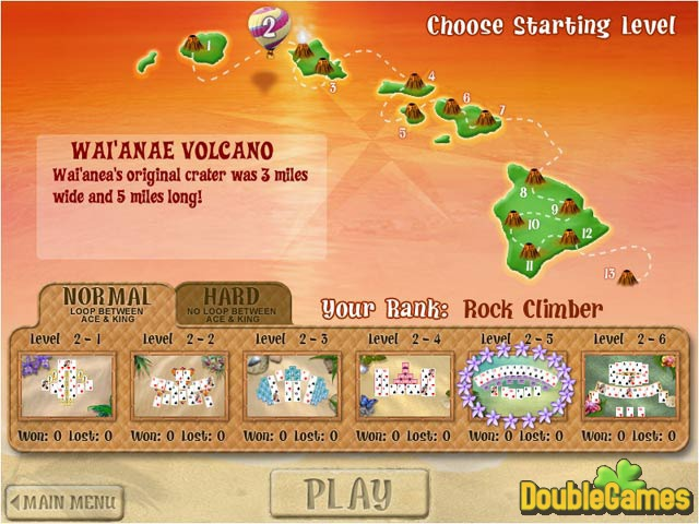 Free Download Aloha Tripeaks Screenshot 2
