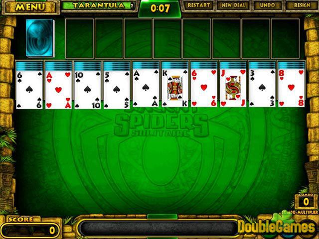 Free Download Ancient Spiders Solitaire Screenshot 1