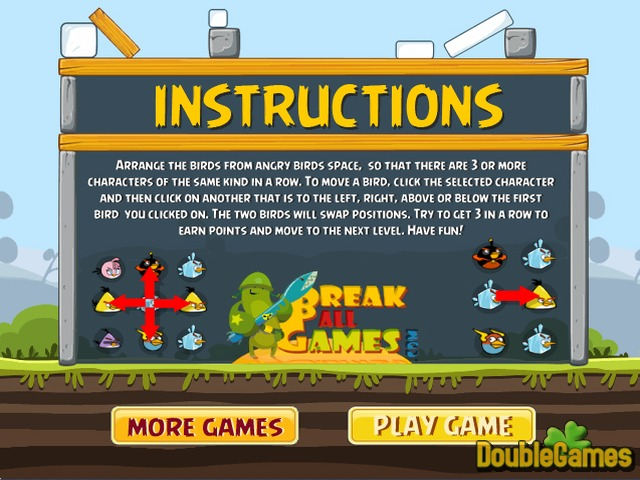 Free Download Swap Angry Birds Screenshot 1