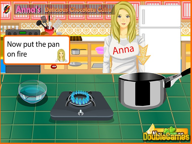 Free Download Anna's Delicious Chocolate Cake Screenshot 1
